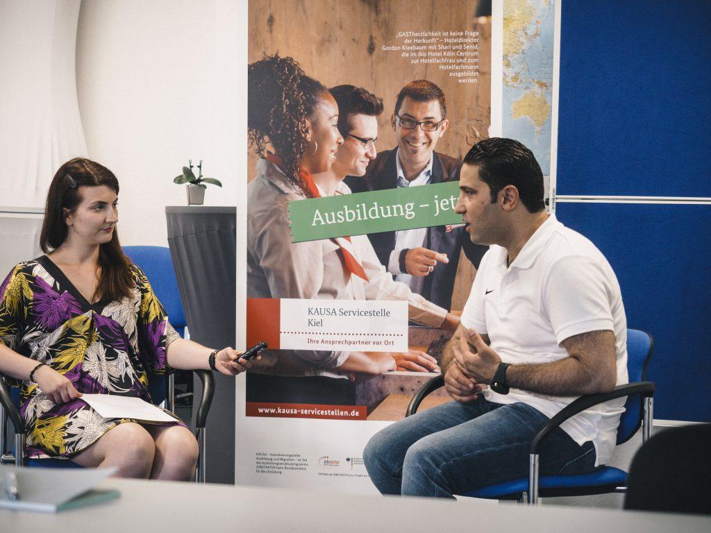 Ausbildung jetzt! Die Erfolgsgeschichte von Mohamad