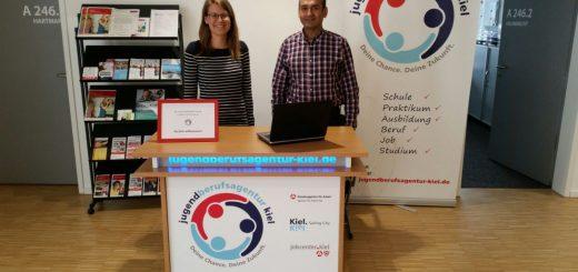 Kooperation mit der Jugendberufsagentur Kiel